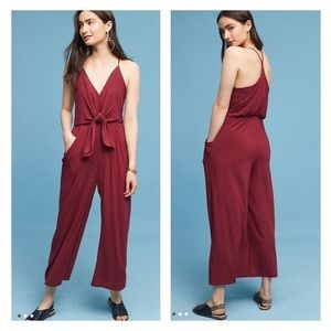 Anthropologie jumpsuit NWT